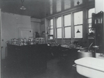 OSWALD AVERY IN HIS LABORATORY