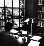Welch Hall library in 1966