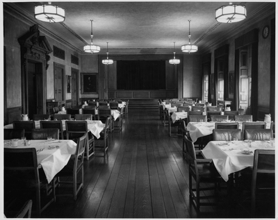 Welch Hall, Faculty Dining Room